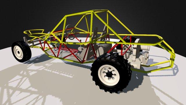 Sand Rail 3D Model