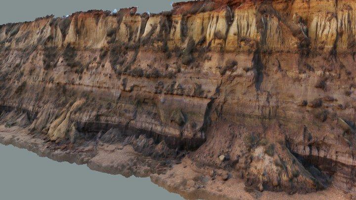 Cliff Photoscan 3D Model