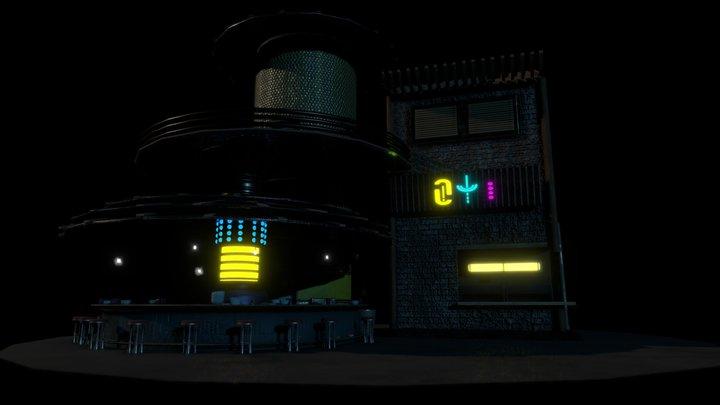 Cyber Bar GD50Chris 3D Model