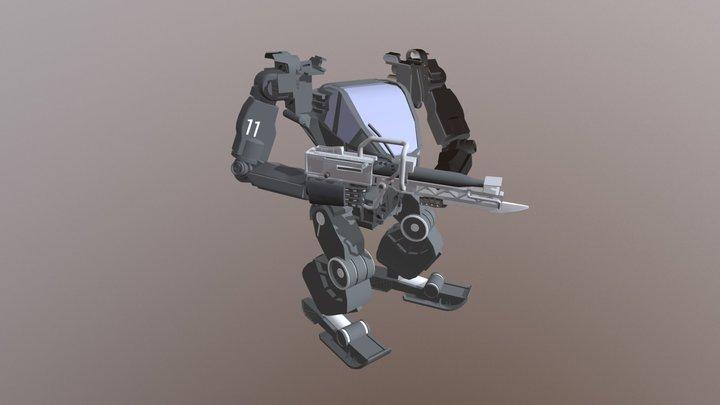 AMP SUIT 3D Model