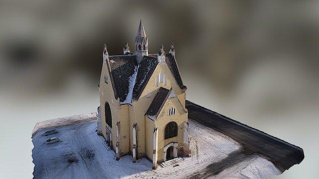 Kostel sv. Josefa, Ústí nad Labem, Předlice 3D Model