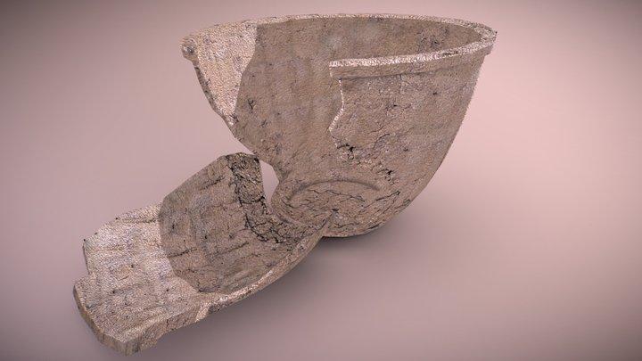 Maceta destruida 3D Model