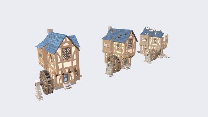 XYZ school Homework_08 3D Model