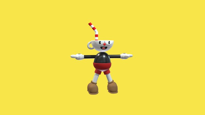 CUPHEAD SUBIR 3D Model