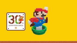 30th Anniversary Mario - Modern Color 3D Model