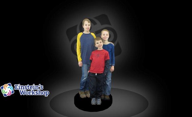 Kids 3D Model