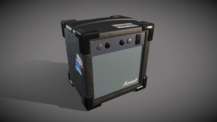 Electric amplifier 3D Model