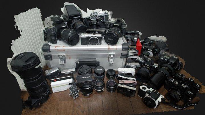 cameras 3D Model