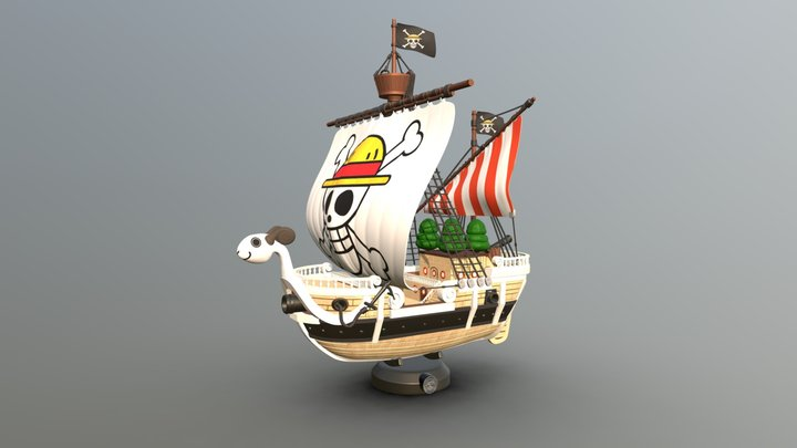 One Piece - GOING MARRY 3D Model