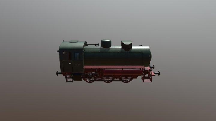 Fireless Engine / Dampfspeicherlok 3D Model