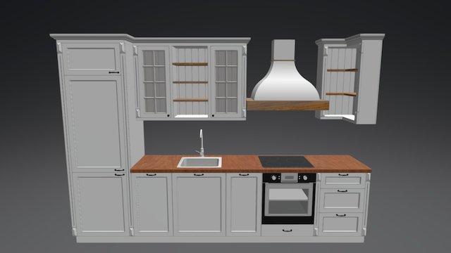Köögimööbel 3D Model