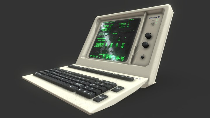 Ericsson Military Control Terminal 3D Model