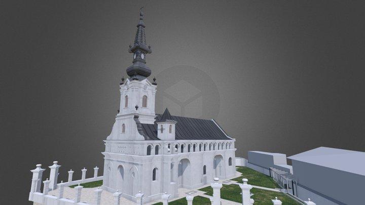 BISERICA ADORMIREA MAICII DOMNULUI - LIPOVA 3D Model