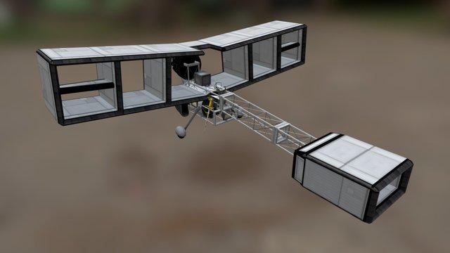 14-Bis model 3D Model