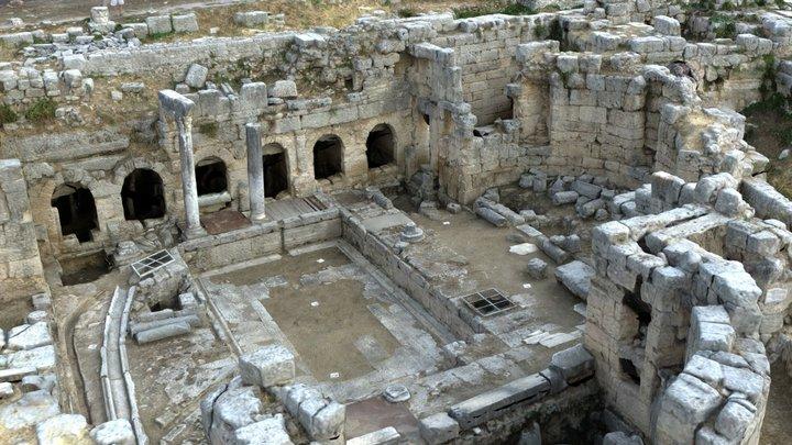 Ancient Corinth, Greece - Agisoft Coaching 3D Model