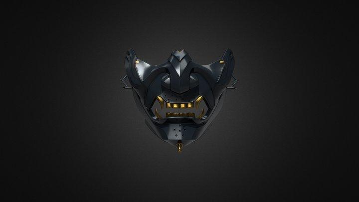 Ghost Mask Of Tsushima 3D Model