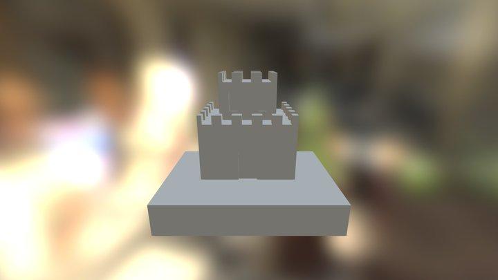 Mario Castle 3D Model