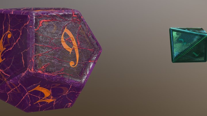 I love dnd 3D Model