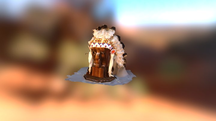 Lakota Head Dress 3D Model