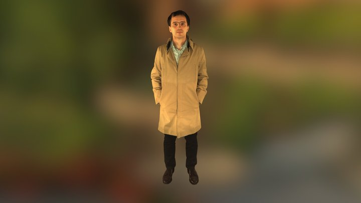 Shapify Booth body scan 3D Model