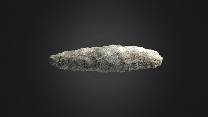 Plano-convex knife 3D Model