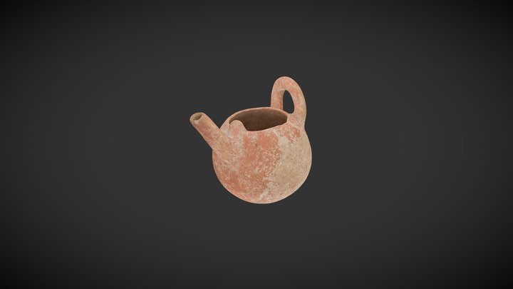 2011.36 Early Cypriot Spouted Bowl 3D Model