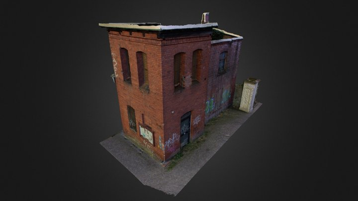 Ehemalige Feuerwache in Rathenow 3D Model