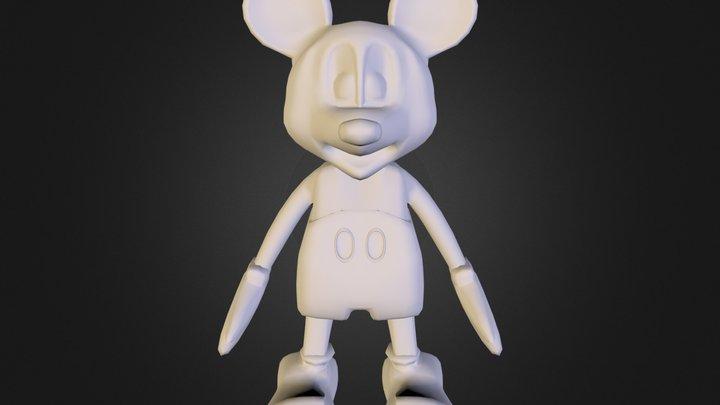Micky Mouse 3D Model