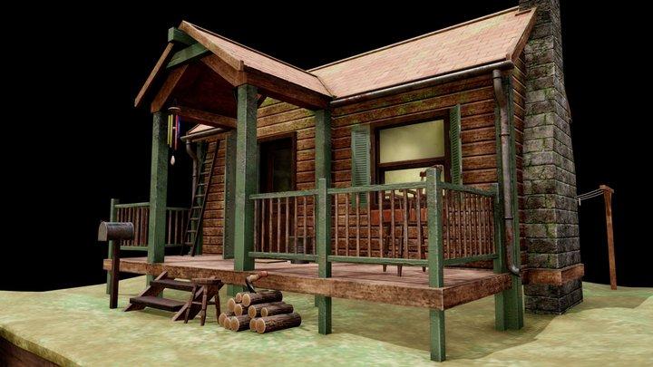 Lake Cabin 3D Model
