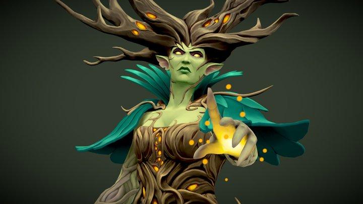 Fairy Queen 3D Model