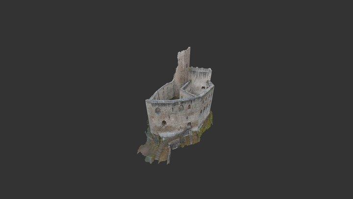Château du Spesbourg - Murs 3D Model