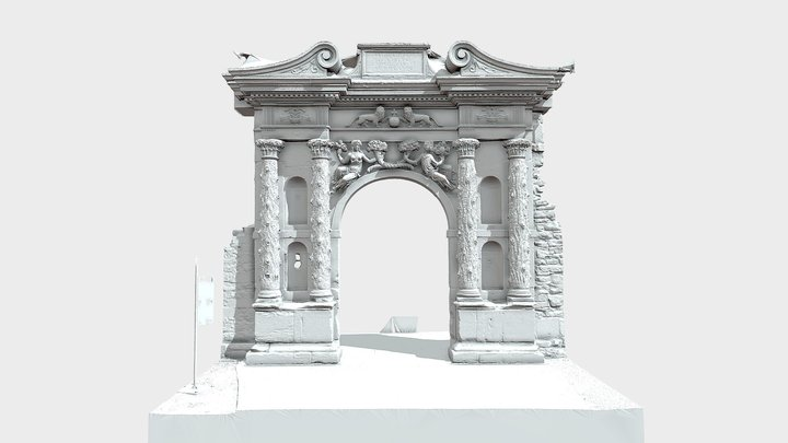 Elisabethenportal1 3D Model