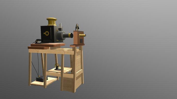 Lumiere Chinematographe 3D Model