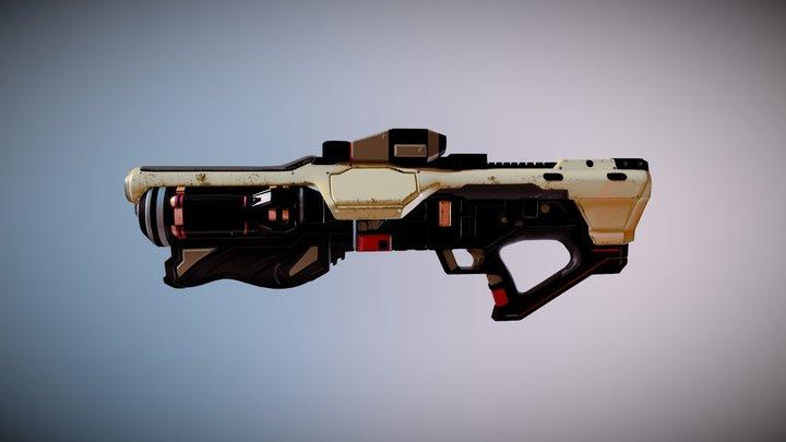 Gun 3D Modelling 3D Model