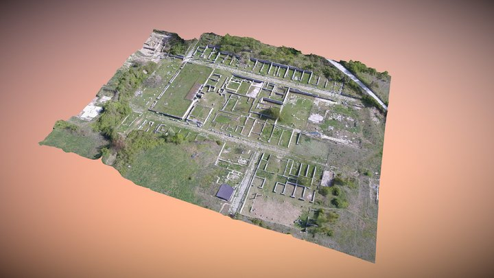 Alba Fucens (città Romana) 3D Model