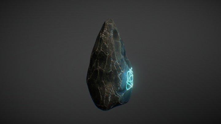 Magic Rock 3D Model
