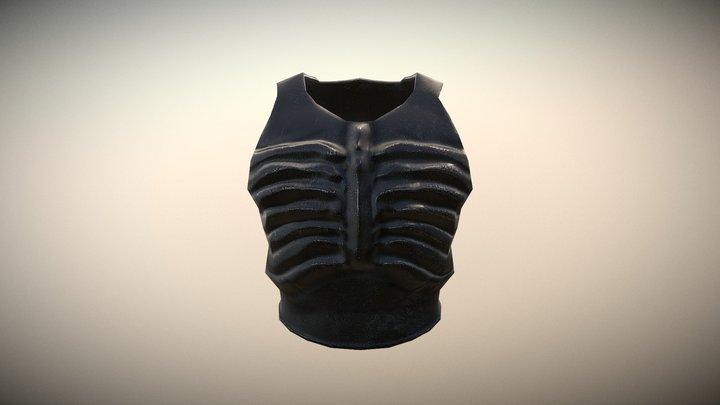 Breastplate_Dark 3D Model