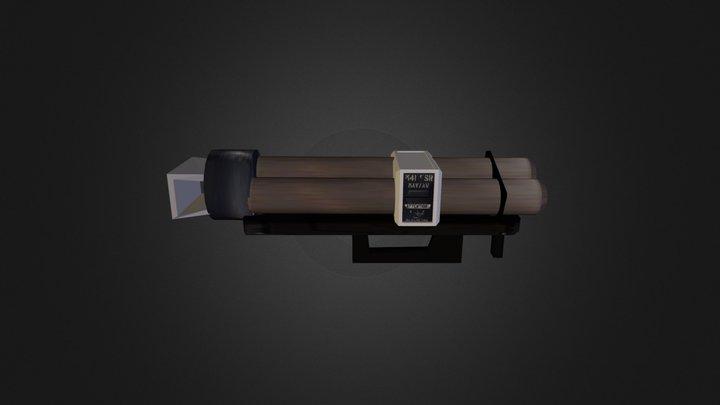 Halo Rocket Launcher 3D Model