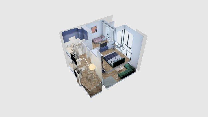 Apartment no. 30 3D Model