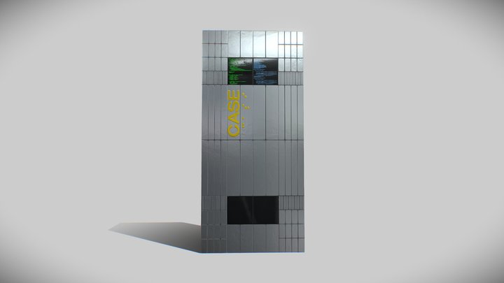 СASE / Interstellar (Low-poly) 3D Model