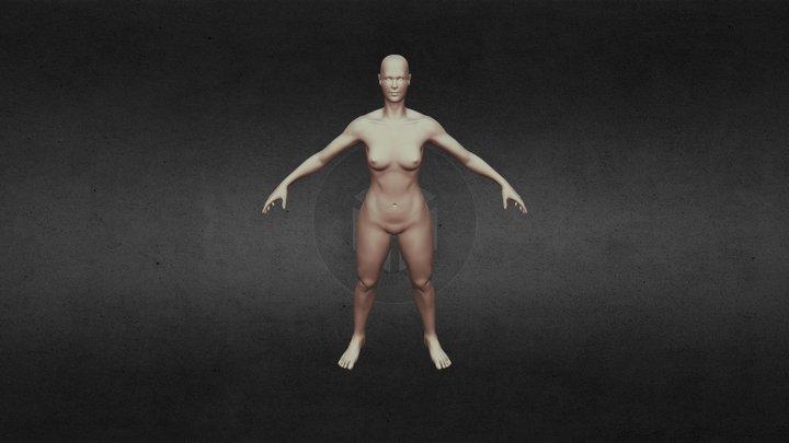 Woman Highres 3D Model