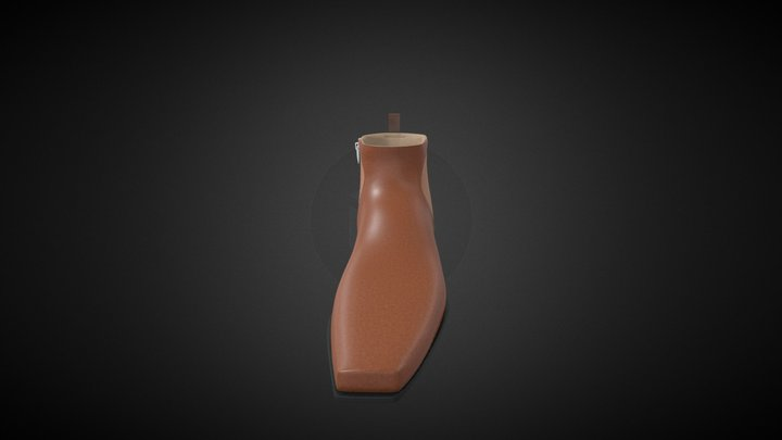 Boot 3 3D Model