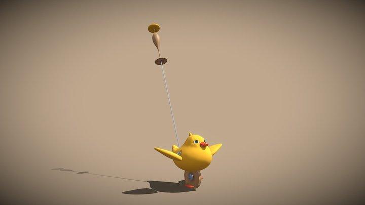 Duck toy Klaus's movie 3D Model