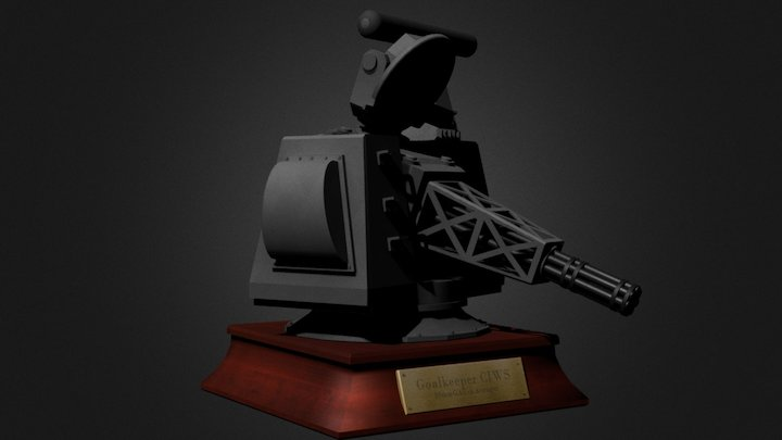 CIWS Goalkeeper 3D Model