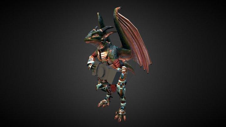 Arkos Ut 2004 Skin (Animated) 3D Model