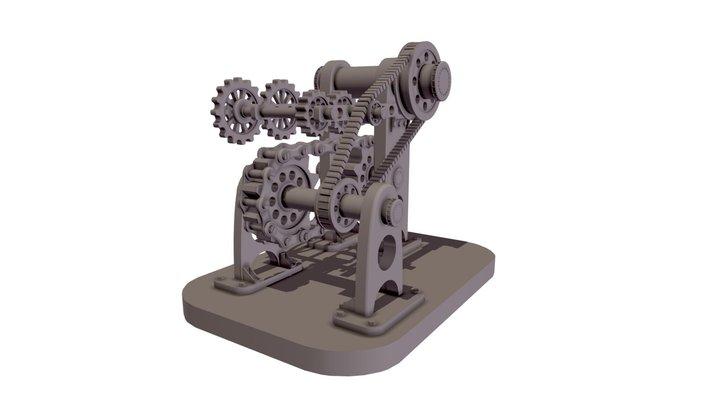 Machina 3D Model