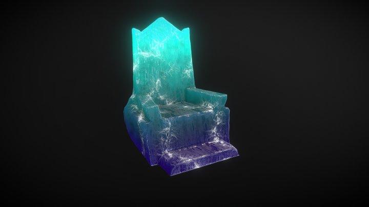 King Bleso's Levitating Throne of Lightning 3D Model