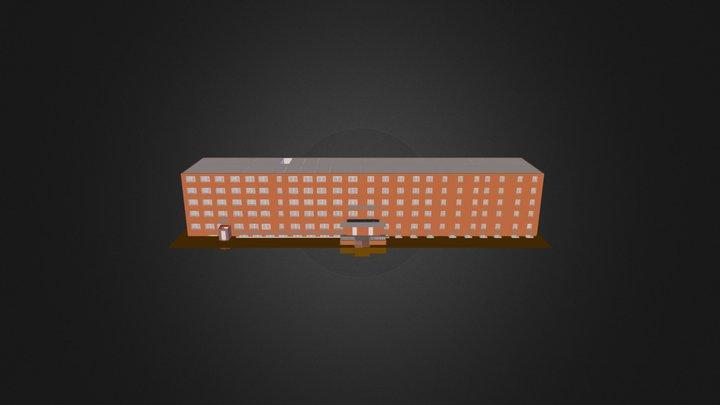 Obshaga 3D Model
