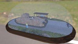 TOG II diorama 3D Model