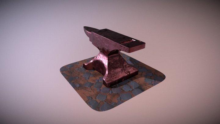 A More Polished Anvil 3D Model